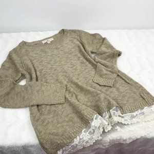 Sweater Lace Trim